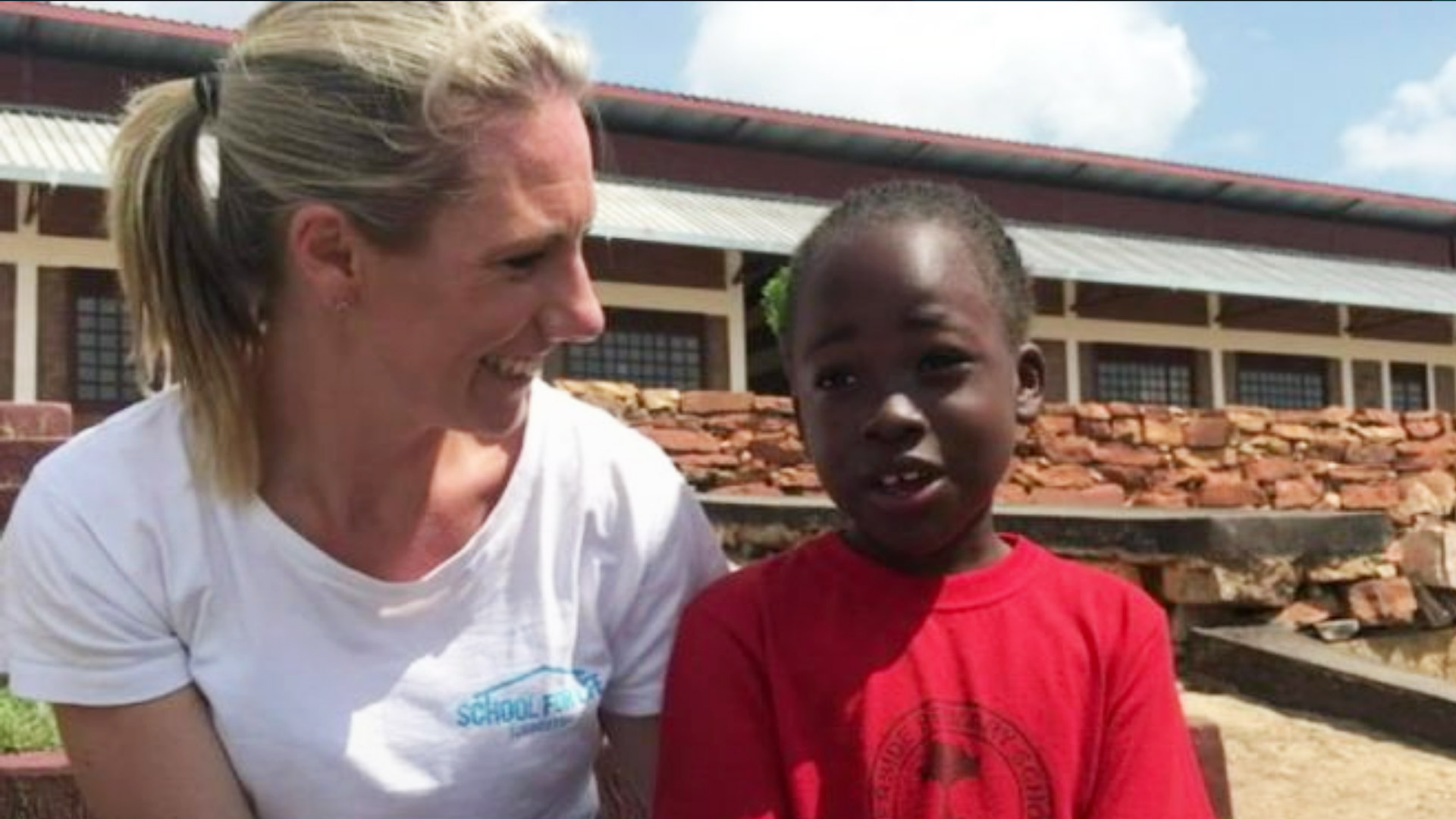 Annabelle Chauncy changing the lives of thousands of children in Uganda